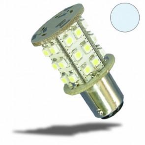 LED BA15S Leuchtmittel, 10-30V/DC, 30SMD, 1,5 Watt, kaltweiß-32491