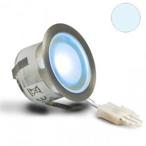"""LED Bodenstrahler """"EASY-LIGHTEYE"""", rund, IP54, Edelstahl, kaltweiss-32756"""