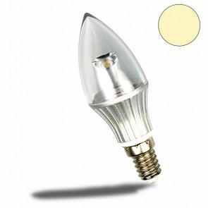 E14 LED Kerze, 4W, klar, warmweiss-32618