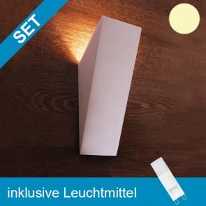 LED Gipsleuchte überstreichbar mit tauschbaren G9 Leuchtmittel 2W MINI COB-39277