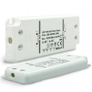 Trafo 12V/DC, 0-6W, ultraflach-35160