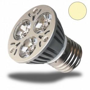 LED-Spotlight E27 3x1 Watt, warmweiss-31019