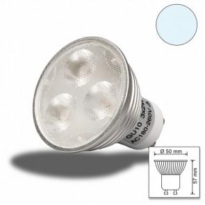 LED-Spot Strahler GU10 3x2 watt, weiss, dimmbar-31120