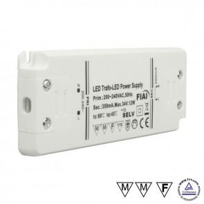 LED Trafo 350mA, 0-12W-35024