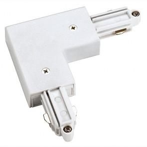 1-Phasen HV, Eckverbinder, Aufbau, Schutzleiter aussen, weiss-342143051