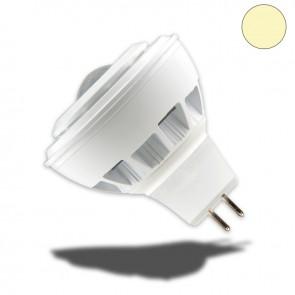 MR16 LED Strahler 5W COB fokusierbar 30°-80°, warmweiss, dimmbar-35042
