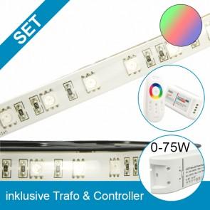 SET Silikon-Flexband + 75W Trafo + RGB Controller-39272