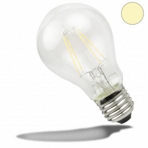 E27 LED Birne, 3,5 Watt, klar, warmweiss-35180