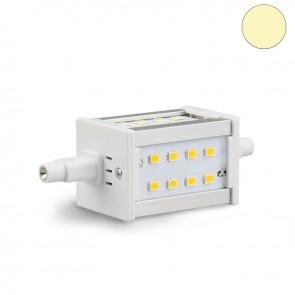 R7s 5 Watt LED-Stableuchtmittel, 24 SMD, 78mm, warmweiß-35385