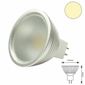 LED MR16 12HSMD 5 Watt, warmweiss, dimmbar-31092