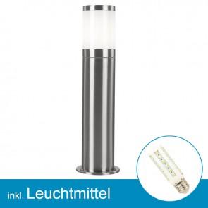 LED Außenlampe XELOO mit Leuchtmittel E27, 7 Watt, neutralweiss-39301