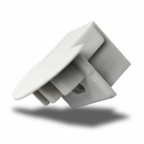 """Endkappe für Profil """"PDS4-K"""" silber, mit Kabeldurchführung-32377"""
