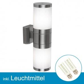 LED Außenlampe XELOO mit Leuchtmittel E27, 7 Watt, neutralweiss-39306