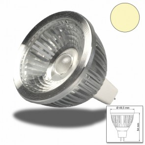 MR16 LED Strahler 6W COB, 70° warmweiss, dimmbar-32933