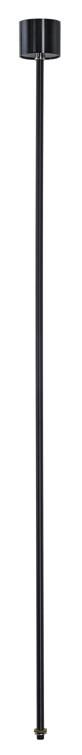 EUTRAC Pendelabhängung 3-Phasenstromschiene, 120cm, schwarz-342145710