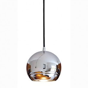 LIGHT EYE Pendelleuchte, chrom, ES111, max. 75W, inkl. 3P.-Adapter-342153112