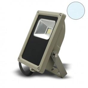 LED Fluter 10Watt, kaltweiss, silber matt-38100