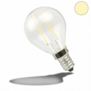 E14 LED Illu, 2 Watt, klar, warmweiss-35183