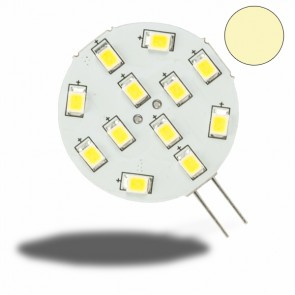 G4 LED 12SMD, 2W, warmweiss, Pin seitlich-32978