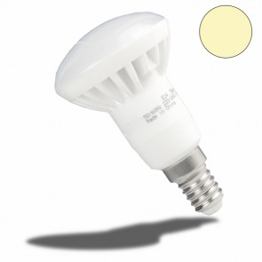 E14 R50 LED-Strahler Keramik, 5 Watt, warmweiss, frosted-32993