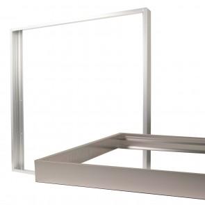 Aufbaurahmen für LED Panel 620x620 silber-35006