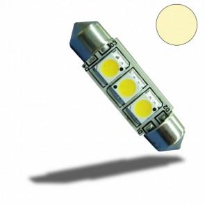 LED Soffitte 37mm 10-30V/DC, 3SMD, 1 Watt, warmweiß-32524