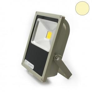 LED Fluter 35Watt, warmweiss, silber matt-35301