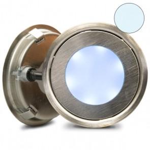 """LED Bodenstrahler """"EASY-LIGHT-OUT"""", rund, IP67, Edelstahl, kaltweiss-32749"""