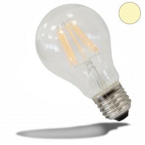 Retro E27 LED Birne, 7 Watt, klar, warmweiss-35321