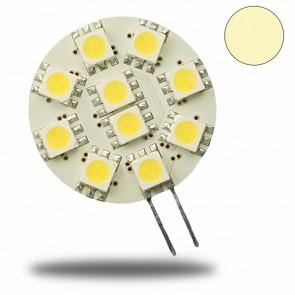 G4 LED 10 SMD, warmweiss-31072