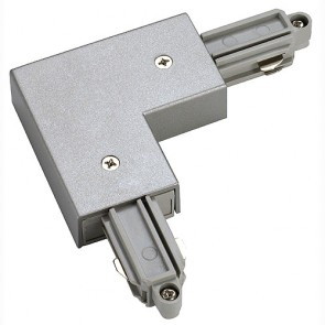1-Phasen HV, Eckverbinder, Aufbau, Schutzleiter innen, silbergrau-342143062