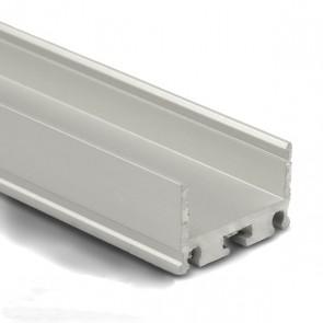 Aluminium Montage- / Kühlprofil IL für Stripes bis 20mm- 2 Meter-32214