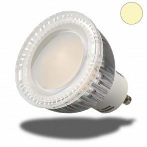 GU10 LED Strahler 6W Glas diffuse, warmweiss-35337