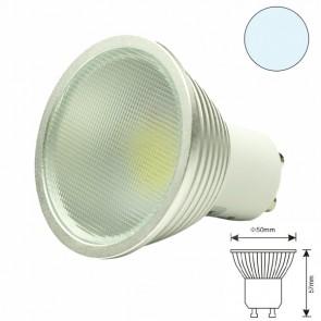 LED-Spot GU10 12HSMD 5 Watt, weiss, dimmbar-31083