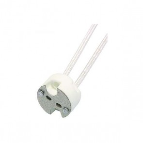 Keramiksockel MR16/GU5.3 - 12V mit Kabel-31035