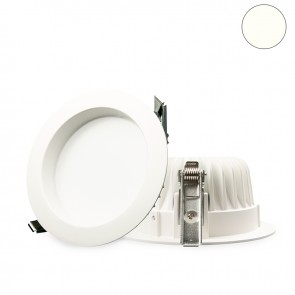 LED Einbaustrahler diffusor 10W, weiß, neutralweiß, dimmbar-32640