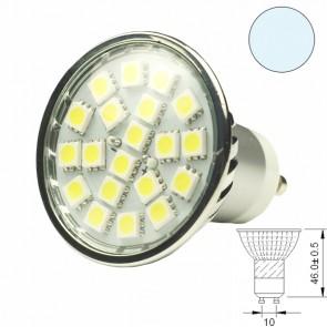 LED-Spotlight Strahler GU10 20SMD 3,6 Watt, weiss-31055