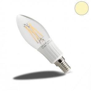 Retro LED Kerze Filament E14, 4W, 400 Lumen, 2800K, dimmbar-38109