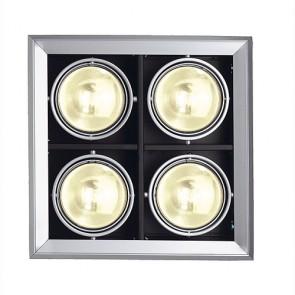 AIXLIGHT MOD 4 ES111, silber- grau-342154082