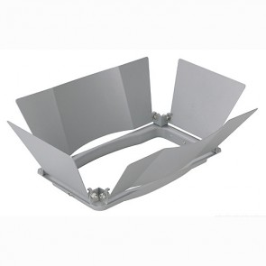 Blendklappen für SDL HQI Strahler, silbergrau-342150572