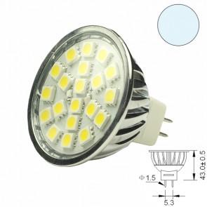 LED-Spotlight Strahler MR16 20SMD 3,6 Watt, weiss-31060