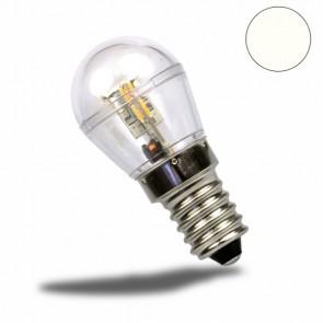 E14 LED Birne, 16SMD, 1 Watt, klar, neutralweiss-32469