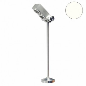 LED Vitrinen-Leuchte, Alu-geb., 6W 20°, neutralweiss-32612