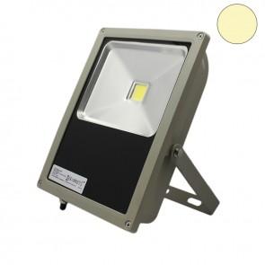 LED Fluter 100Watt, warmweiss, silber matt-35305