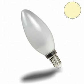 LED Kerze 3W warmweiss milchglas dimmbar-32336