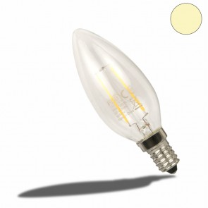 E14 LED Kerze, 2 Watt, klar, warmweiss-35181