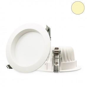 LED Einbaustrahler diffusor, 16W, weiß, warmweiß, dimmbar-32641