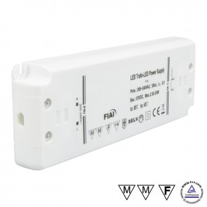Trafo 24V/DC, 0-30W, ultraflach-35017