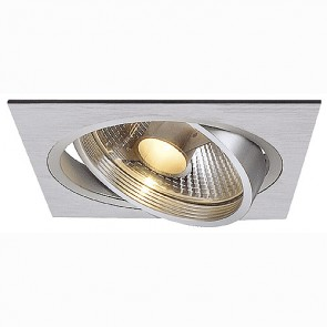 NEW TRIA I ES111 Downlight, eckig, alu brushed-342111381