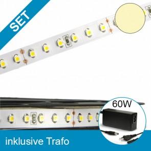 SET LED STD-Flexband warmweiss + 60W Trafo-39258